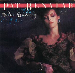 We Belong - Image: Pat Benatar We Belong