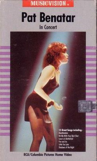 Live from Earth - Image: Pat Benatar in concert