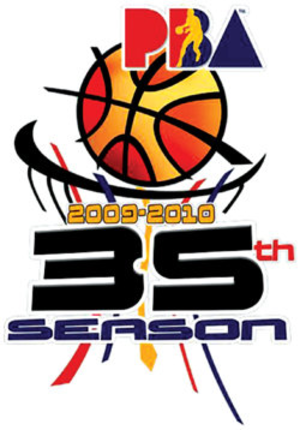2009–10 PBA season - Image: Pba 2009 10 logo