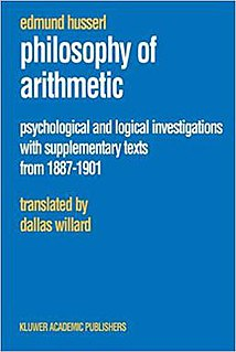 <i>Philosophy of Arithmetic</i> book by Edmund Husserl