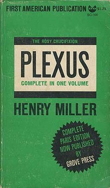 Plexus, Henry Miller, Grove Press 1965.jpg