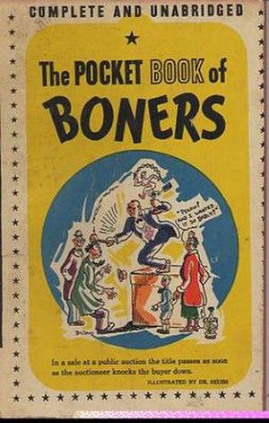 The Pocket Book of Boners