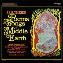 Cover art for Poems and Songs of Middle Earth