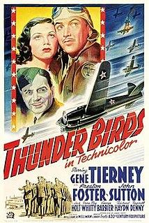 <i>Thunder Birds</i> (1942 film) 1942 film by William A. Wellman