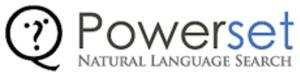 Powerset (company) - Image: Powerset logo