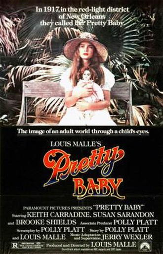 Pretty Baby (1978 film) - Theatrical release poster