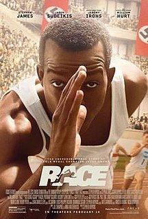 <i>Race</i> (2016 film) 2016 film directed by Stephen Hopkins