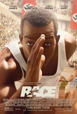 Race (2016 film) - Image: Race 2016 film poster