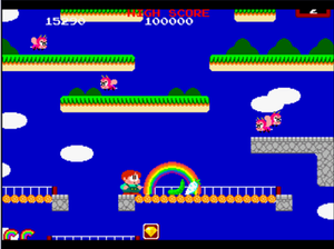 Rainbow Islands: The Story of Bubble Bobble 2 - The second stage of Rainbow Islands. (arcade version)