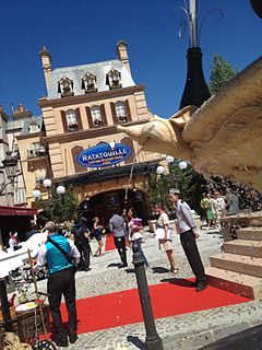 motion-based trackless 3D dark ride in Walt Disney Studios Park and planned in Epcot