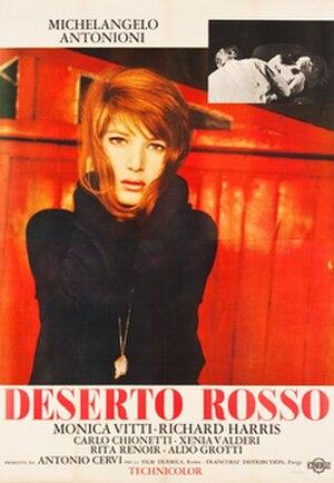 Red Desert (film) - Original Italian film poster