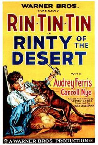 Rinty of the Desert - Theatrical release poster