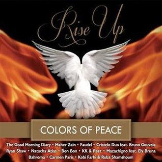 Fethullah Gülen - Cover of album Rise Up (Colors of Peace)