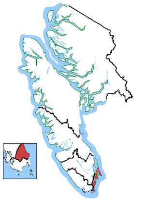 Saanich—Gulf Islands - Saanich—Gulf Islands based on other Vancouver Island federal electoral districts (2003 boundaries).