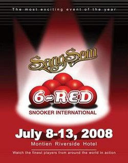 Sangsom 6-red Snooker International poster.jpg