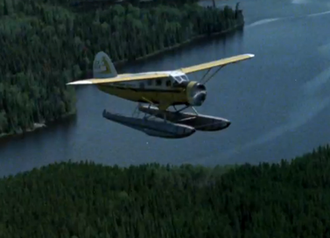 Northway Aviation Ltd - Noorduyn Norseman (CF-GUE) from Northway Aviation was prominently featured in Bush Pilot: Reflections on a Canadian Myth.