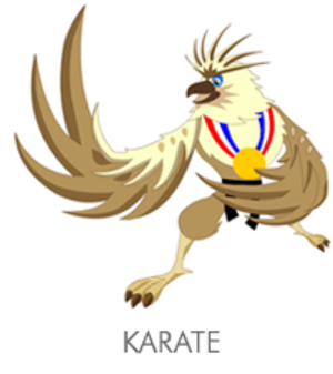 Karate at the 2005 Southeast Asian Games - Karate at the 2005 Southeast Asian Games logo
