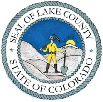 Lake County, Colorado - Image: Seal of Lake County, Colorado