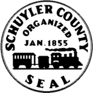 Schuyler County, New York - Image: Seal of Schuyler County, New York
