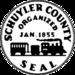 Sigelo de Schuyler County, New York