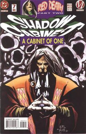 Shadow Cabinet (comics) - Harry Chawney (Dharma), artist John Paul Leon