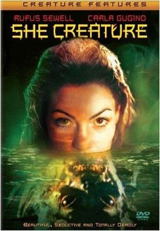 She Creature - DVD cover
