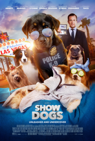 Show Dogs - Theatrical release poster