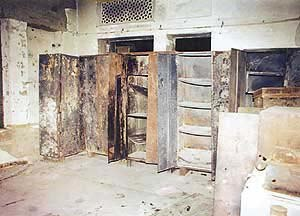 Picture of burned Sikh Reference Library