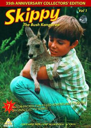 Skippy the Bush Kangaroo - UK DVD cover