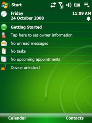 Windows Mobile 6.1 - Image: Sshot 114(v 2)