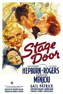 <i>Stage Door</i> 1937 film by Gregory La Cava