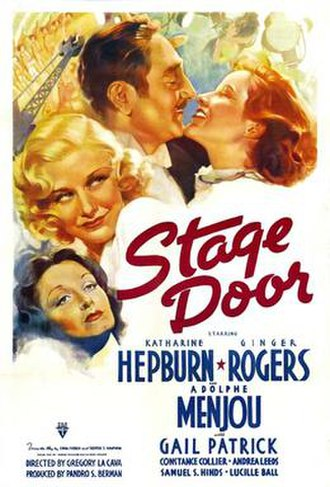 Stage Door - Stage Door theatrical poster