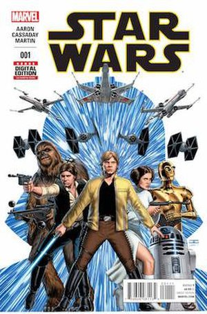 Star Wars (2015 comic book) - Image: Star Wars Vol 2 001 (2015)