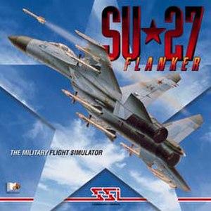 Su-27 Flanker (video game) - Image: Su 27 Flanker Coverart