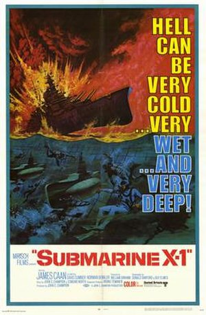 Submarine X-1 - Original film poster