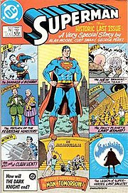 "Superman #423 (Sept. 1986), the first half of ""Whatever Happened to the Man of Tomorrow?"""