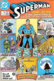 Superman: Whatever Happened to the Man of Tomorrow? 1986 comic book story