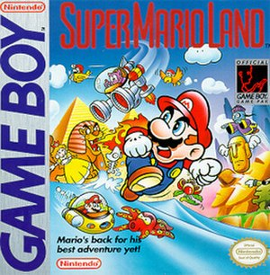 Super Mario Land - North American box art