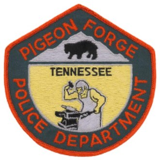 Pigeon Forge Police Department - Image: TN Pigeon Forge Police