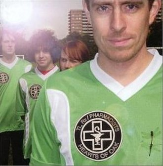 Hearts of Oak (album) - Image: Ted Leo and the Pharmacists Hearts of Oak cover