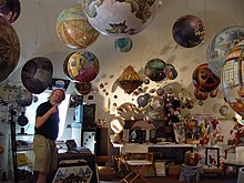 Termes in his art gallery.