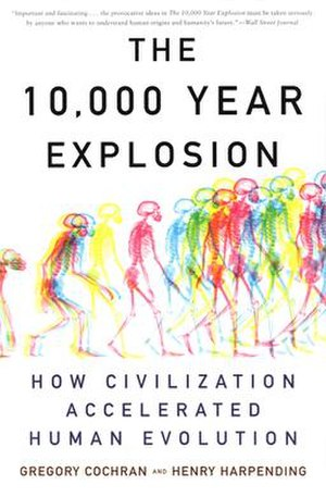 The 10,000 Year Explosion - Image: The 10,000 Year Explosion (Cover)