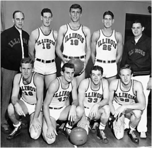 "1942–43 Illinois Fighting Illini men's basketball team - ""1942-43 Fighting Illini men's basketball team"""
