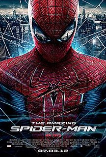 <i>The Amazing Spider-Man</i> (2012 film) 2012 film directed by Marc Webb