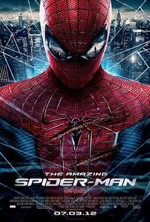 The Amazing Spider-Man (2012 film) - Theatrical release poster