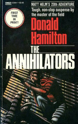 The Annihilators - 1983 paperback edition