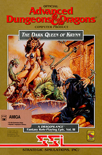 <i>The Dark Queen of Krynn</i> 1992 video game