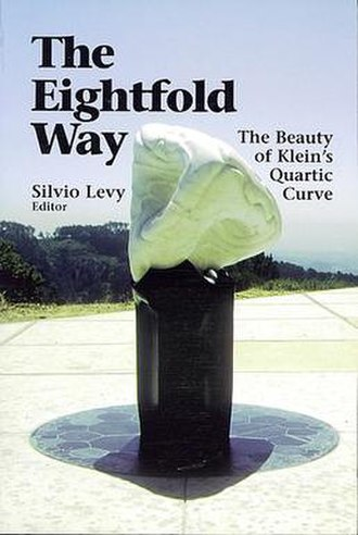Klein quartic - The Eightfold Way – sculpture by Helaman Ferguson and accompanying book.