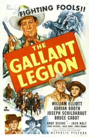 The Gallant Legion - Theatrical release poster