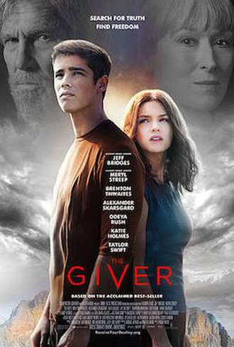The Giver (film) - Theatrical release poster